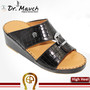 Men Sandal Dr.Mauch 5 Zones 100-111 Black With Lines-41