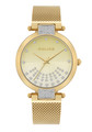 Police Alcanar Watch For Women Gold Dial