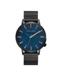Police Marmol Mens' Watch Blue Dial Black Mesh Bracelet P15923JSU-03MM