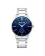Police PUNO Mens'  Blue Dial Stainless Steel Brancelet Watch P15921JS-03M