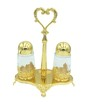 Salt & Pepper Set Brass