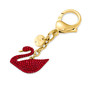 Swan:Bag Charm Red/Gos 5526754-