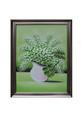White Flowers In Vase Oil Painting 76x100cm