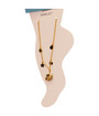 Women's  ANKLET 3  Gold