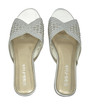 Womens Flat Shoes Silver35